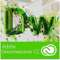Programy graficzne i CAD, Adobe Dreamweaver CC PL dla użytkowników wcześniejszych wersji - Subskrypcja