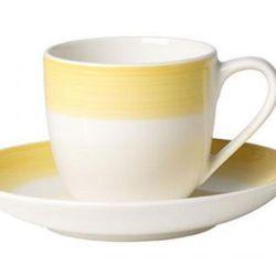 Villeroy & Boch - Colourful Life Lemon Pie Filiżanka do espresso ze spodkiem