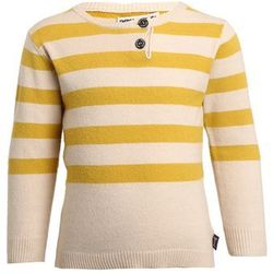 Imps&Elfs BABY LONG SLEEVE Sweter milky mel/sunday yellow