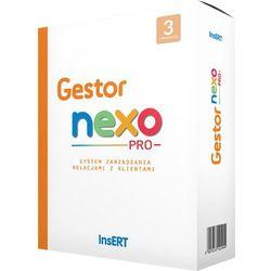 Program Insert Oprogramowanie Insert - Gestor nexo Pro 3 stn - GENP3 Darmowy odbiór w 21 miastach!