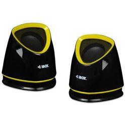 Głośniki komputerowe IBOX Yellow/Black (IGLH9107B) Darmowy odbiór w 21 miastach!