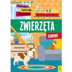 Naklejam, koloruję, rozwiązuję. zwierzęta domowe - praca zbiorowa (opr. miękka)