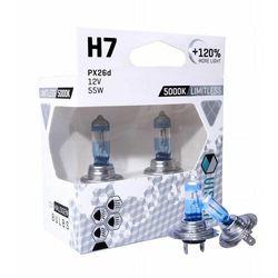 Żarówki VISION Limitless White H7 12V 55W +120%