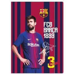 teczka z gumką A-4 lakierowana FC Barcelona fan 6