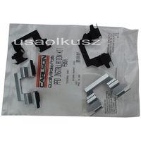 Odpowietrzniki zacisku hamulcowego, Zestaw montażowy tylnych klocków Nissan Maxima 2012-
