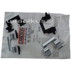 Zestaw montażowy tylnych klocków Nissan Maxima 2012-