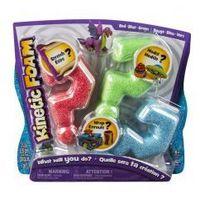 Kreatywne dla dzieci, Kinetic Foam Multi 3-pak czerwony, zielony, niebieski *
