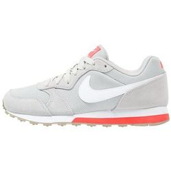 Nike Sportswear MD RUNNER 2 Tenisówki i Trampki pale grey/white/bright crimson/khaki