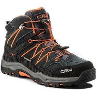 Kozaki dziecięce, Trekkingi CMP - Kids Rigel Mid Trekking Shoes Wp 3Q12944 Asphalt U883