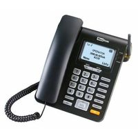 Telefony stacjonarne, Telefon MAXCOM MM28D Comfort Czarny