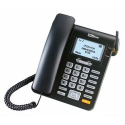 Telefon MAXCOM MM28D Comfort Czarny