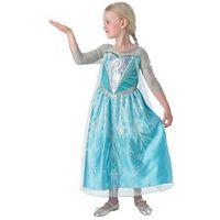 Przebrania dziecięce, Kostium Frozen Elsa Premium dla dziewczynki - Roz. M