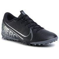 Piłka nożna, Buty NIKE - Vapor 13 Academy TF AT7996 001 Black/Mtlc Cool Grey/Cool Grey