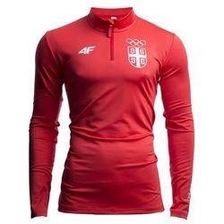 Bluza męska Serbia Pyeongchang 2018 TSMLF700 - czerwony wiśniowy