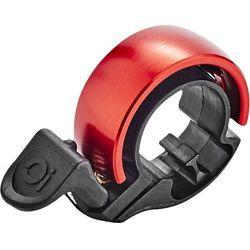 Knog Oi Classic Dzwonek rowerowy, black/red Large (23,8-31,8mm) 2019 Dzwonki Przy złożeniu zamówienia do godziny 16 ( od Pon. do Pt., wszystkie metody płatności z wyjątkiem przelewu bankowego), wysyłka odbędzie się tego samego dnia.