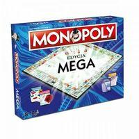 Gry dla dzieci, Monopoly Mega Edycja specjalna gra planszowa Winning Moves