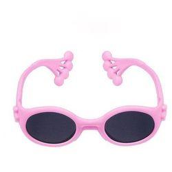 Okulary Przeciwsłoneczne dla Dzieci Różowe 6m+ - różowy