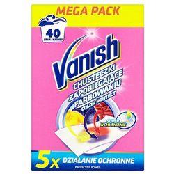 VANISH 20szt Color Protect Chusteczki zapobiegające farbowaniu (40 prań)