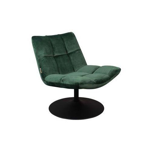 Fotele, Dutchbone Fotel Bar zielony 3100081