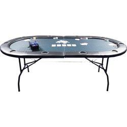 Stół do gry w pokera GAMBLER 210x105x73 /składany/