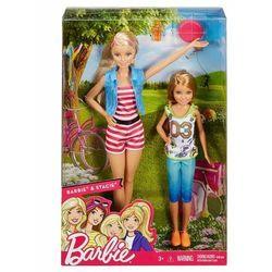Lalka Barbie i Stacie - Na wycieczce - DWJ64