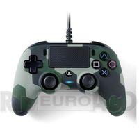 Gamepady, Wired Compact Controller Camo Green do PS4 Kontroler NACON