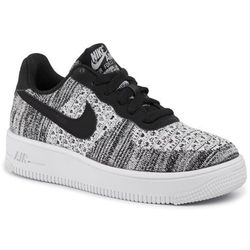 Buty NIKE - Air Force 1 Flyknit 2.0 (GS) BV0063 001 Black/Pure Platinum/White