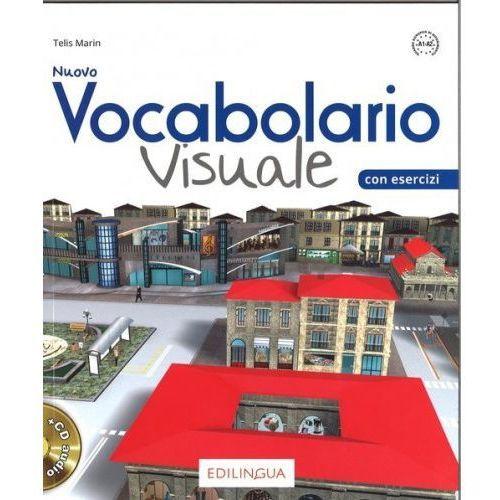 Książki do nauki języka, Vocabolario Visuale Nuovo podręcznik + CD - Marin Telis (opr. kartonowa)