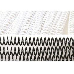 Grzbiety do bindowania spiralne, białe, 16 mm, 100 sztuk, oprawa do 120 kartek - Super Ceny - Rabaty - Autoryzowana dystrybucja - Szybka dostawa - Hurt