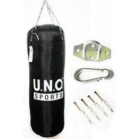 Gruszki i worki treningowe, Worek bokserski UNO 90cm / 30 / 22kg + MOCOWANIE