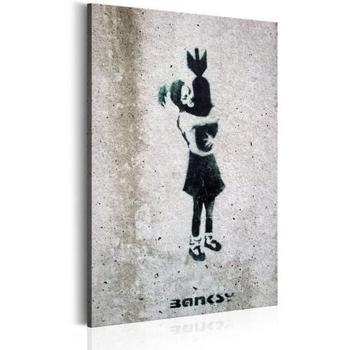 Obrazy, Obraz - Bomb Hugger by Banksy