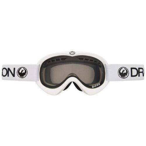 Kaski i gogle, gogle snowboardowe DRAGON - Dxs Powder (Smoke + Yellow) (128) rozmiar: OS