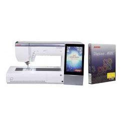 Maszyno - hafciarka JANOME MC15000 + DIGITIZER MBX