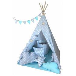 Namiot tipi dla dziecka z poduszkami 4 wzory - Somit