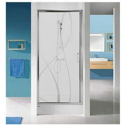SANPLAST drzwi Tx 5 120 przesuwne, szkło W0 D2/TX5b-120 600-271-1120-38-401