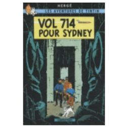 Tintin Vol 714 pour Sydney - Wysyłka od 3,99 - porównuj ceny z wysyłką (opr. twarda)
