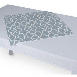 Dekoria Serweta 60x60 cm, błękitny w biały marokański wzó, 60 × 60 cm, Gardenia