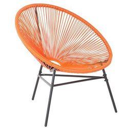 Krzesło ogrodowe pomarańczowe ACAPULCO