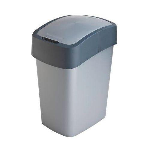 Kosze na śmieci, Kosz do segregacji śmieci FLIP BIN 10l szary