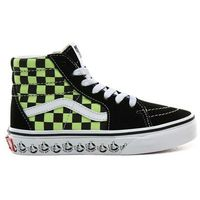Pozostałe obuwie dziecięce, buty VANS - Sk8-Hi (Vans Bmx)Blk/Sharp Green (V3W)