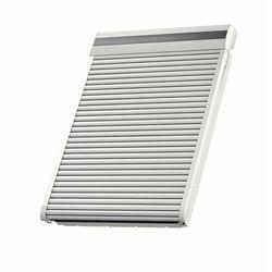 Roleta na okno dachowe VELUX SML PK08 94x140 zewnętrzna elektryczna tytan-cynk
