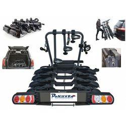 Bagażnik rowerowy składany Peruzzo Pure Instinct platforma na hak 4 rowery