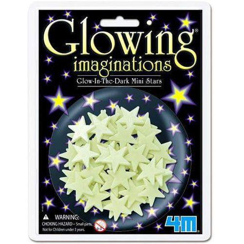 Pozostałe zabawki, 4M Glowing Mini Gwiazdki Świecące