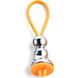 Breloczek na klucze Miss srebrna Flick Philippi pomarańczowa zawieszka (P273047)