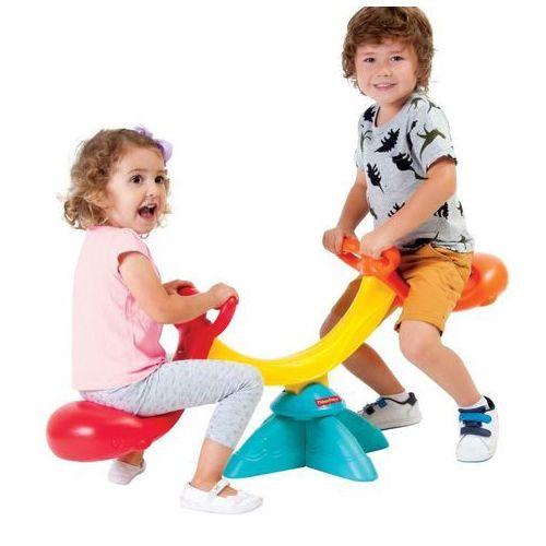 Huśtawki dla niemowląt, Fisher Price Huśtawka równoważna ogrodowa dla dzieci dwuosobowa