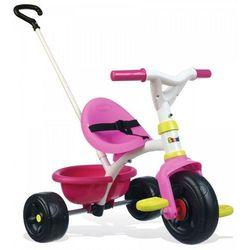 Smoby Be Fun Rowerek trójkołowy, różowy