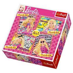 TREFL 4w1 Wakacje Barbie