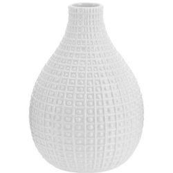 Ceramiczny wazon na kwiaty, dekoracje - wysoki, 26 x Ø 19 cm