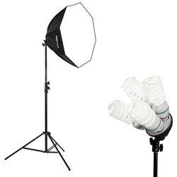 Lampa światła stałego SOFTBOX octa 60cm 4x 85W 300cm