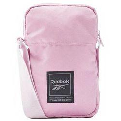 Torebka na ramię Reebok Workout City Bag różowa FQ5290
